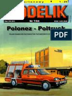 Modelik 2004.07 Polonez Poltruck