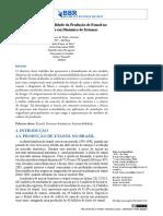 analise da sustentabilidade do etanol no Brasil