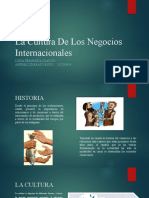 La Cultura De Los Negocios Internacionales