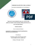 INFRAESTRUCTURA A TRAVES DE PROYECTO DE INVERSION