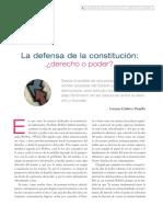 La defensa de la Constitución Derecho o poder.pdf