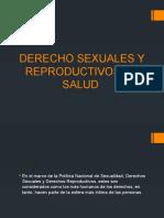 DERECHO SEXUALES Y REPRODUCTIVOS EN SALUD
