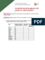 FICHA DE GRAFICO DE  BARRAS