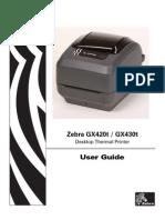 Printer Zebra User Guide