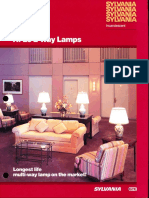 Sylvania Incandescent Hi-Lo 2 Way Lamps Brochure Revised