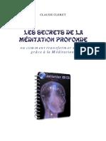 Les secrets de la méditation profonde
