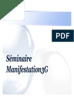 Seminaire Manifestation 3G