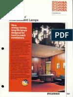 Sylvania Incandescent Supersaver Lamp Brochure