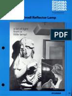 Sylvania Incandescent 25w R14N Lamp Bulletin