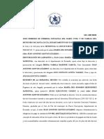 3. SENTENCIA DE JUCIO EJECUTIVO  COMÚN