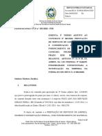 5 Parecer n.  033.2020 - Termo Aditivo - Prorrogação SEM renúncia de reajuste -prestação de serviço de limpeza - FOCO- psr - revisado