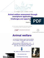 Animal welfare assessment through smartphone applications. Challenges and opportunities