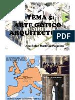 ARTE GÓTICO ARQUITECTURA