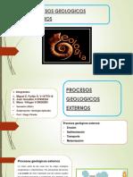 Procesos Geológicos,  Geología Aplicada