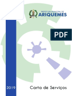 Carta de Serviços Prefeitura de Ariquemes