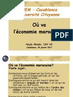 Najib akesbi Où va l'économie marocaine