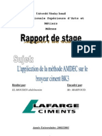 AMDEC sur broyeur