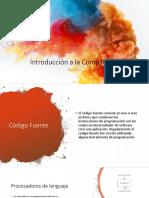 1. Procesadores y Fases de la Compilación