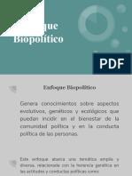 Enfoque Biopolítico