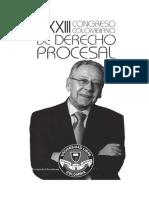 Memorias del XXXIII Congreso Colombiano de Derecho Procesal - CGP