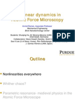 Nonlinear dynamics in Atomic Force