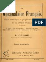 Vocabulaire 1 - CE1