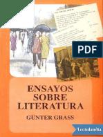 Ensayos sobre literatura - Gunter Grass