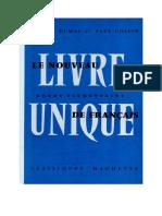 Le Nouveau Livre Unique de Francais - CE1 CE2