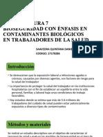 trabajo 7 Bioseguridad contaminantes biológicos SAAVEDRA QUINTANA DANIEL ANTONIO