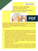 MES DE LA EDUCACIÒN   TÈCNICO PROFESIONAL (1)
