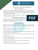 Código de Ética Colegio de Kinesiólogos de Mendoza