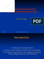 Architectural Teaching