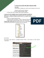 ABALAR, catalogación de recursos web usando o UBUNTU NETBOOK