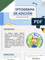 CLASE DE CRIPTOGRAMAS DE ADICION