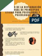 Impacto de la Declaración Universal de Principios Éticos