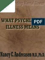 psychiatrist ilness means