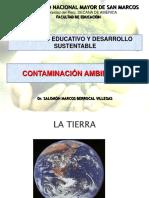 Segunda semana. Contaminación ambiental