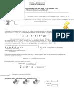 Guia de Aprendizaje Matemática