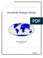 worldwide strategic energy final draft business plan