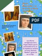 Madre Mazzarelo y María Auxiliadora