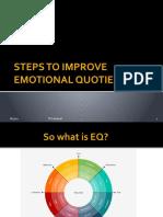 Steps to improve Emotional Quotient
