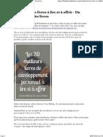 Les meilleurs livres à lire et à offrir - Du bonheur et des livres.pdf