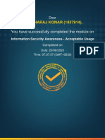 1837914_Information Security Awareness - Acceptable Usage_Completion_Certificate