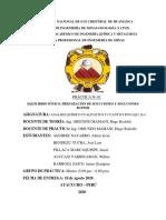 INFORME N°01 DE QUIMICA CUANTITATIVA Y CUALITATIVA