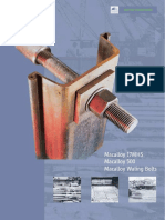 Macalloy Sheet Piling Tie Bars