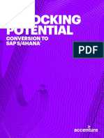 Unlocking Potential Conversion SAP S4 HANA_Accenture