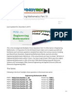 pinoybix.org-MCQs in Engineering Mathematics Part 10