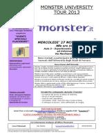 Monster University Tour 271113