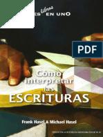 Frank Hasel y Michael Hasel. Como interpretar las escrituras. Apia.pdf