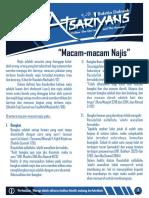 Buletin Dakwah The Atsariyans Edisi 1